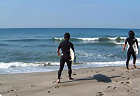 サーフィンを楽しもう!!
